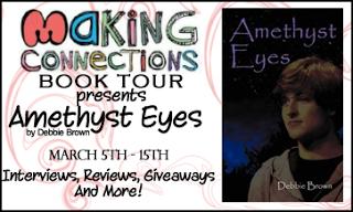 Author Spotlight – Amethyst Eyes by Debbie Brown
