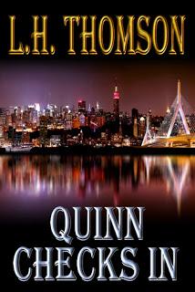 Spotlight: L.H. Thomson, author of Quinn Checks In