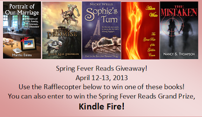 Spring Fever Reads Giveaway Event – Over 40 ebooks and a Kindle Fire! #SpringReads