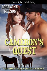 COVER REVEAL and Giveaway – Cameron's Quest by Lorraine Nelson