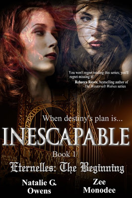 #NewRelease and #Giveaway INESCAPABLE by Natalie G. Owens and Zee Monodee #paranormal
