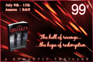 THE MISTAKEN by Nancy S. Thompson is on #SALE! #romanticsuspense #99cents