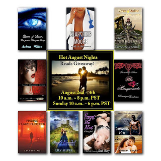 Hot August Nights Reads Giveaway Event – Almost 50 ebooks and a $150 Amazon Gift Card! #HotAugust #HotReads