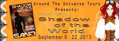 Blog Tour: Shadow of the World by Gregory Carrico #99cents