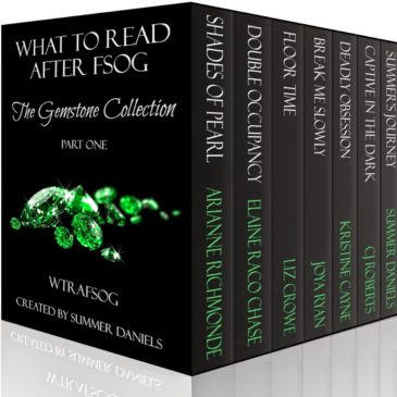 #NewRelease WHAT TO READ AFTER FSOG: The Gemstone Collection & #excerpt from CAPTIVE IN THE DARK by CJ Roberts #99cents