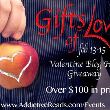 Top Five Valentine GIFTS OF LOVE Blog Hop #AReads Win over $100 in prizes!!